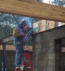 Simpson Decorative Joist Hangers by Jon U0027s Blog Construction Status Rain Concrete Steel Sunshine