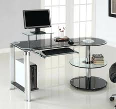 Staples Corner Desks Canada by Glass Top Computer Table U2013 Anikkhan Me