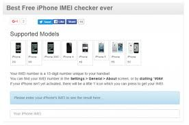 iPhone IMEI Checker For Free ANY Carrier SIM Lock Status