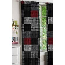 Geo Shower Panels by Latitude Geo Blocks Curtains Set Of 2 Walmart Com