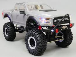 100 Rc Ford Truck RC Scale Body Shell 110 FORD RAPTOR Pick Up Hard Body