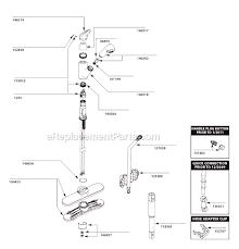 Pegasus Kitchen Faucets Parts Of 9821 Moen Kitchen Faucet Parts Diagram Diagram