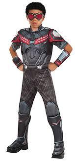 Rubies Costume Captain America Civil War Falcon Deluxe Muscle Chest Child Small