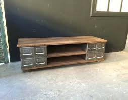 meuble tv bois industriel les 25 meilleures idaces de la