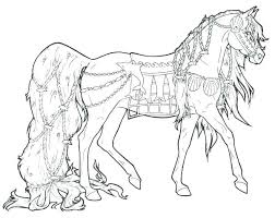 Arabian Horse Coloring Pages Horses Beautiful Pretty