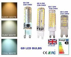 g9 led bulb light dimmable 3w 3 5w 4 5w 7 5w cool warm white