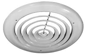 Round Ceiling Air Vent Deflector by How To Install Ceiling Air Diffuser Grihon Com Ac Coolers U0026 Devices