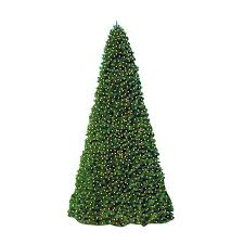 Christmas Central 20 Ft Indoor Outdoor Pre Lit Everest Fir Artificial Tree