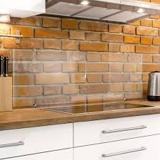 spritzschutz küche glas transparent inkl klemmbefestigung panorama
