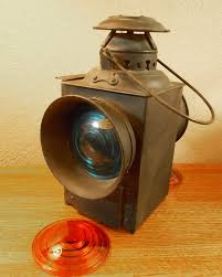 Aladdin Caboose Wall Lamp by Question U0026 Answer Board Railroadiana Online Website