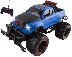 100 Blue Monster Truck RC Buggy Remote Control Car RTR Electric Truggy