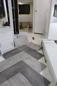 Trailer Remodel With Peel And Stick Vinyl Flooring