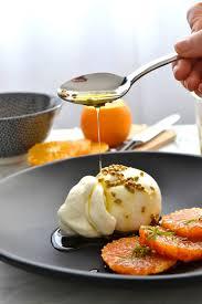 cuisine coriandre simple comme une burrata à l orange sanguine graines de coriandre