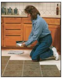 installing groutable vinyl tile vinyl tile can be grouted so it