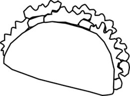 Tacos clipart drawn 1