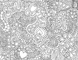 Abstract Coloring Pages For Adults Difficult