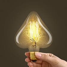 vintage edison bulb squirrel cage filament dimmable