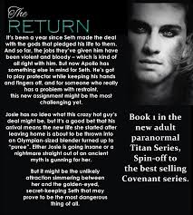 Thecovenantseries For Someone Who Really Has A Problem With Restraint This New