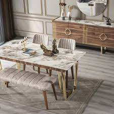 buse esszimmer set gold