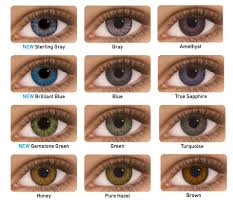 Theatrical Contacts Prescription by Colour Contact Lenses