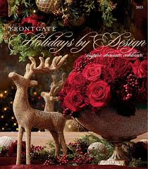 Frontgate Christmas Trees Decorated by Frontgate Holidays By Design 2013 Catalog By Amy Howell Hirt Issuu