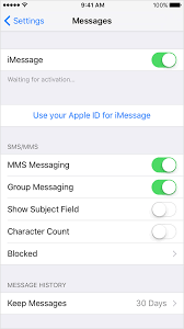 Messages are not send to non Apple users is no longer syncing