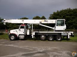 100 Altec Boom Truck Sold 38TON ALTEC BOOM TRUCK FOR SALE Crane For In Miami Florida On