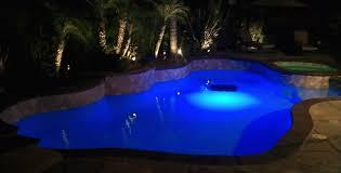 swimming pool swimming pool light bulb with blue sharp