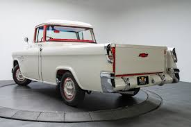 135621 1955 Chevrolet Cameo | RK Motors Classic And Performance Cars ... 1957 Chevrolet Cameo Carrier 3124 Halfton Pickup Chevrolet Cameo Streetside Classics The Nations Trusted 1955 Pickup Truck Stock Photo 20937775 Alamy Rare And Original Carrier Pickup Sells For 1400 At Lambrecht Che 1956 3100 Volo Auto Museum 12 Ton Chevy Cameo Gmc Trucks Antique Automobile Club Of Sale 2013036 Hemmings Motor News On The Road Classic Rollections 1958 Start Run External Youtube Chevy Forgotten Truckin Magazine