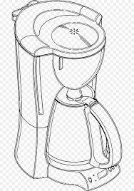 Coffeemaker Espresso Drawing Clip Art