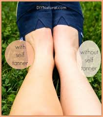 Tanning Lamps For Legs by Homemade Self Tanner A Natural Diy Self Tanner