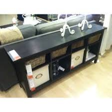 hemnes console table black brown hemnes sofa tables and solid wood