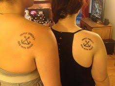 My Bff And I With Our Supernatural Sailor Jerry Inspired Matching Tattoos Friends