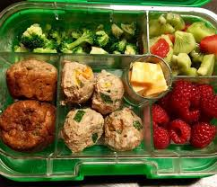 Turkey Meatball Toddler Lunch Idea