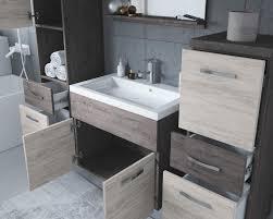badezimmer badmöbel set alba 60 cm waschbecken bodega mit