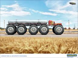 100 Big Truck Big Tires Goodyear Print Advert By Leagas Delaney Ads Of The World