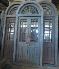 porte entree vantaux porte interieure ancienne vitrée 2 vantaux avec imposte plein