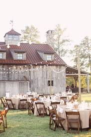 Rustic Outdoor Reception Right Next To The Barn