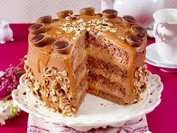 nougat toffee torte