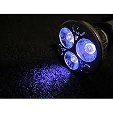3 watt uv ultraviolet led light bulb 385nm mr 16 base ac dc 12