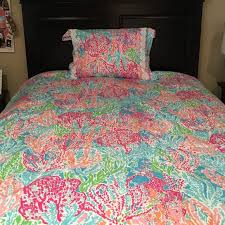 Lilly Pulitzer Lilly Pulitzer Lets Cha Cha Bed Spread from
