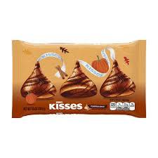 Nonfat Pumpkin Spice Latte Calories by Amazon Com Hershey U0027s Halloween Kisses Pumpkin Spice 10 Ounce