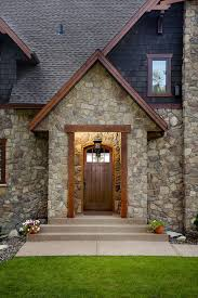 100 Fieldstone Houses Manufactured Stone Home Exteriors In 2019 House Stone Exterior
