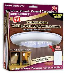 wireless ceiling wall light with remote switch stairs