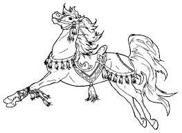 Horse Herd Coloring Pages Printable Realistic Of Horses Free Head Co