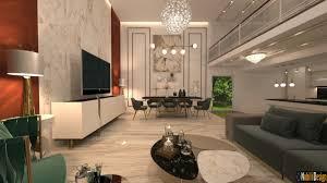 modernes luxushaus in dubai vereinigte arabische emirate