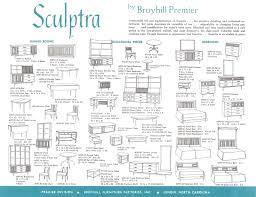 Brasilia Broyhill Premier Dresser by Mad For Mid Century Broyhill Premier Sculptra Brochure