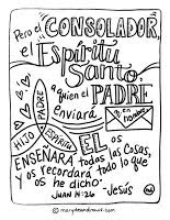 The Helper John 1426 Bible Coloring Page English And Spanish