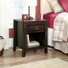 Sauder Harbor View Dresser Antiqued White Finish by Sauder Harbor View 1 Drawer Salt Oak Nightstand 415004 The Home