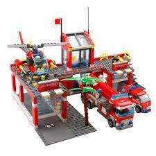 Philippines | Kazi KY8051 774pcs Fire Department Fire Truck Building ...